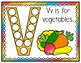 V is for Vegetables Activity Pack Alphabet Common Core Pre