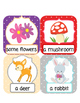 V6 ESL Conversation Vocabulary Lesson Forest Animals