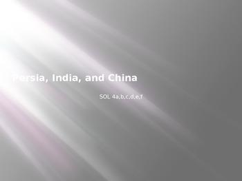VA WHI.4 SOL Powerpoint Persia, India, and China