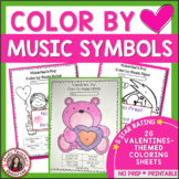 VALENTINE'S DAY COLOR by MUSIC SYMBOL