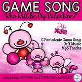 "Music Class Valentine's Song, Game Lesson: ""Who Will Be My"