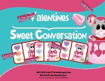 VALENTINE SWEET CONVERSATIONS CLIP CARDS