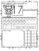 VALENTINE'S DAY Number Practice Printables - Recognition T