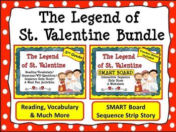 VALENTINE'S DAY BUNDLE: The Legend of St. Valentine Readin