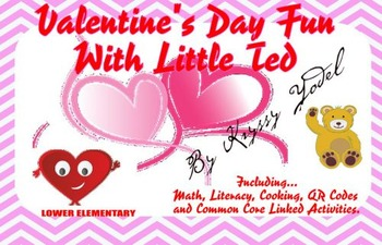 Valentine's Day Fun With Little Ted, including fun QR code