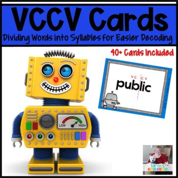 VCCV Robots Finding Syllables