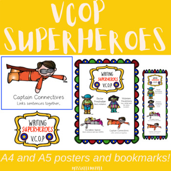 VCOP Super Heroes - display, writing enhancement