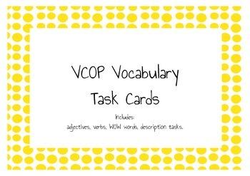 VCOP Vocabulary Task Cards