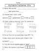 VCe Syllables: Vowel/ Consonant Patterns #2