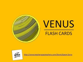VENUS FLASH CARDS