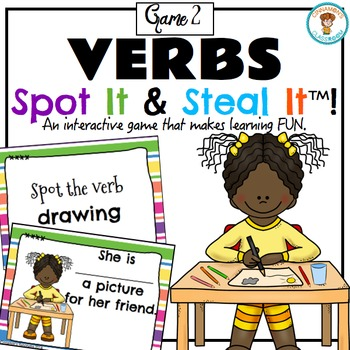 VERBS Spot It & Steal It (Game 2)