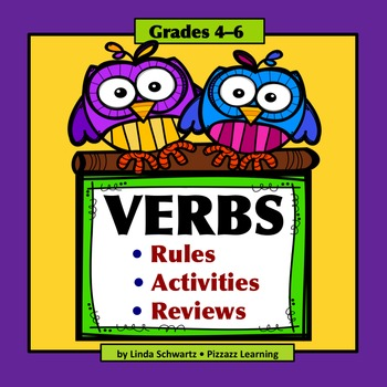 VERBS (Test Prep Review) - Grades 4–6