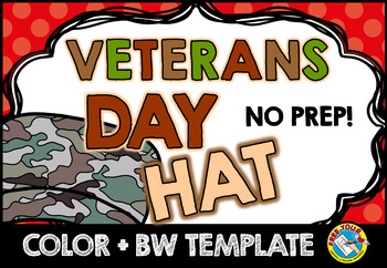 VETERANS DAY CRAFTS: VETERANS DAY HAT TEMPLATES: HOLIDAY C