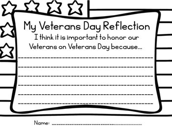 VETERANS DAY REFLECTION