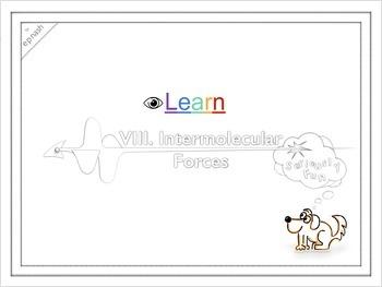 Intermolecular Forces ~eyeLEARN Digital & Printable Worksh