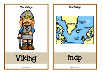 The Vikings Picture Cards