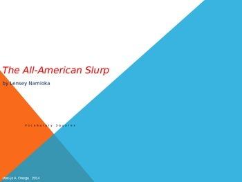 """VOCAB SQUARES: """"The All-American Slurp"""""""