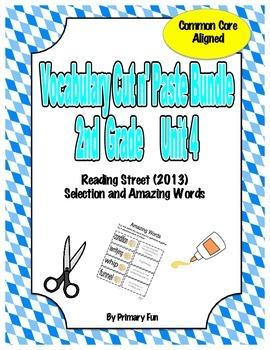 VOCABULARY CUT N' PASTE BUNDLE- Reading Street: UNIT 4-  2