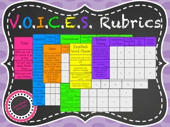 V.O.I.C.E.S. Rubrics