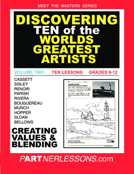 VOLUME TWO-MEET THE MASTERS SERIES-TEN GREAT ARTISTS