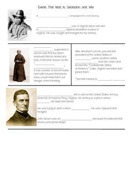 VS.7a Part II: Nat Turner, Harriet Tubman, John Brown - Ci