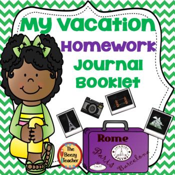 Vacation Homework Booklet