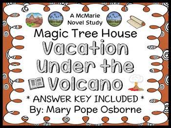 Vacation Under the Volcano: Magic Tree House #13 Novel Stu