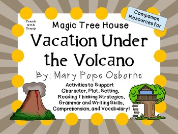 Vacation Under the Volcano by Mary Pope Osborne:  A Comple