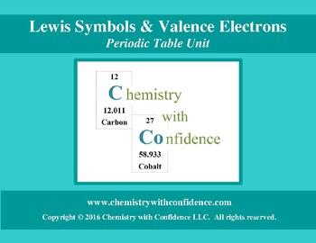 Valence Electrons & Lewis Symbols