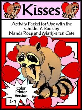 Valentine's Day Reading Activities: Kisses Valentine's Day