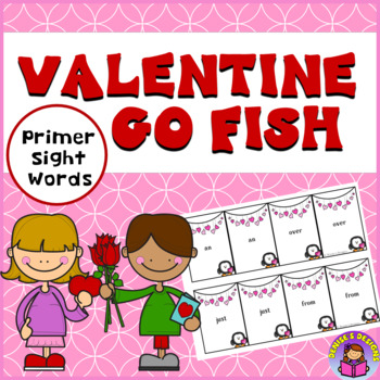 Valentine 1st Grade Sight Words Go Fish