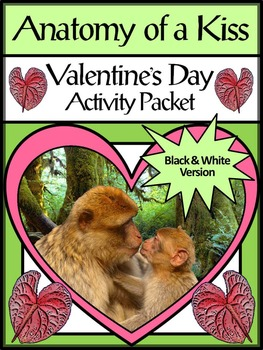 Valentine's Day Science Activities: Anatomy of a Kiss Acti