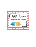 Valentine ABC Order Pocket Center