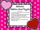 Valentine Addition Grid Puzzles