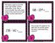 Valentine Addition & Subtraction Task Cards - FREEBIE!