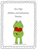 Valentine-Addition and Subtraction