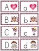 Valentine Alphabet Cards and Writing Book