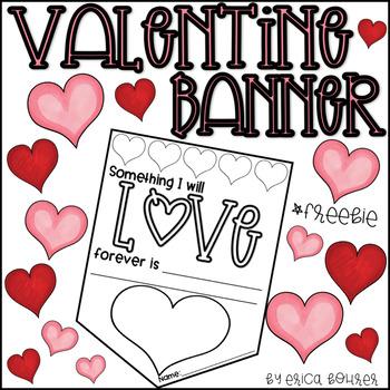 Valentine Banner Freebie!
