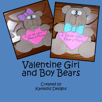 Valentine's Day Bear Crafty