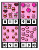 Valentine Bears Owls Hearts Clip Cards for Counting to 20