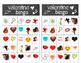 Valentine Bingo - 24 different Valentine cards for a fun b