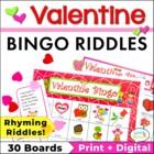 Valentine Bingo Riddles