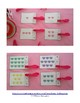 Valentine Candy Hearts Count and Clip Cards (Sets to 12)