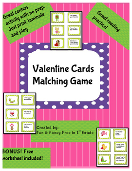 Valentine Card Memroy