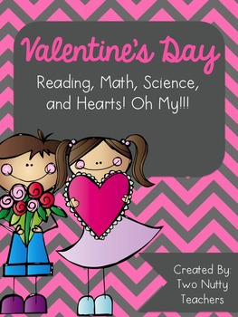 Valentine's Day Collection: Reading, Math, and Science Activities