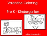 Valentine Art - Kindergarten - First and Second