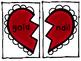 Valentine Compound Word Matching Activity