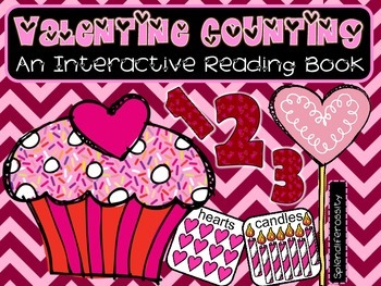 Valentine Counting: An Interactive Reading Math Book