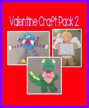 Valentine's Day Craft Pack 2