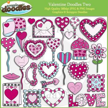 Valentine Doodles Two
